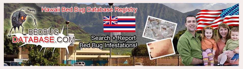 Hawaii-bed-bug-database-registry