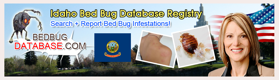 Idaho-bed-bug-database-registry