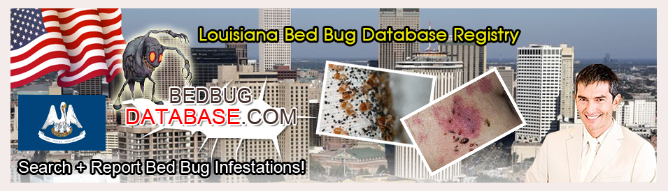 Louisiana-bed-bug-database-registry