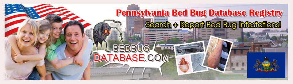Pennsylvania-bed-bug-database-registry