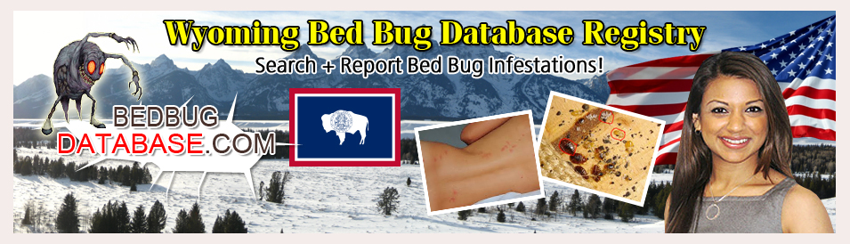 Wyoming-bed-bug-database-registry