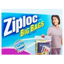 Ziploc Double Zipper Big Bags