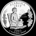 Quarter of Alabama