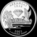 Quarter of Arkansas