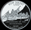 Quarter of New Jersey