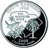 South Carolina quarter, reverse side, 2000.jpg