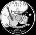 Quarter of Tennessee